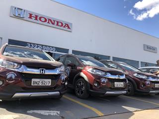 Expedição da Honda passa pela concessionária Endo Car de Campo Grande - Vídeo