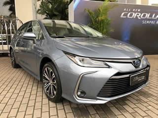 Confira um vídeo do nosso primeiro contato com o Corolla 2020 Híbrido