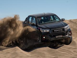 Sem divulgar o preço, Toyota apresenta a Hilux com motor V6 a gasolina