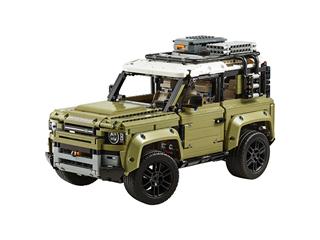 LEGO Land Rover Defender chega ao Brasil