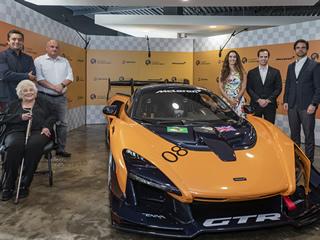 Única unidade do McLaren Senna GTR destinado à América Latina é mostrada em São Paulo