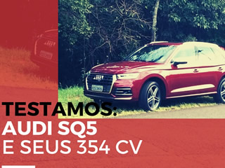 Domamos os 354 cavalos do Audi SQ5 pelas ruas de Campo Grande - vídeo