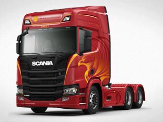 Custando a partir de R$ 490.000, Scania lança Edição Especial Heróis da Estrada