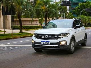 SUV da VW fabricado no Paraná, T-Cross é líder em vendas na Argentina
