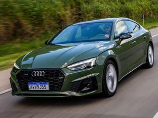 Audi A5 Sportback chega ao Brasil com faróis LED Matrix, tração quattro e a partir de R$ 284.990