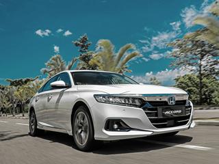 Sem divulgar versões ou preços, Honda apresenta o novo Accord híbrido