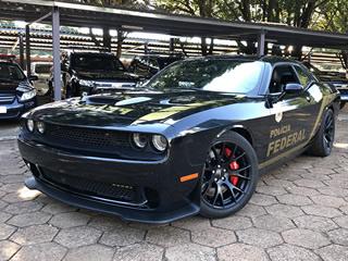 Conheça todos os detalhes do Dodge Challenger Hellcat da Polícia Federal de MS